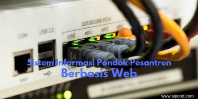 Sistem Informasi Pondok Pesantren Berbasis Web