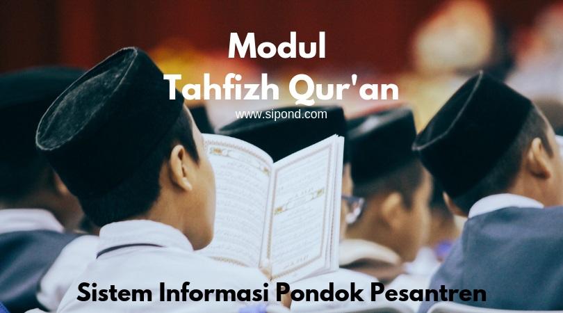 aplikasi pengolah data tahfidz